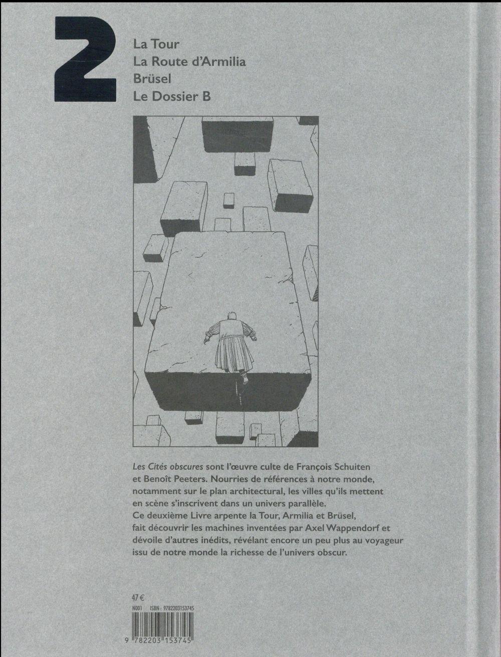 Les cités obscures ; INTEGRALE VOL.2 ; T.3 A T.5