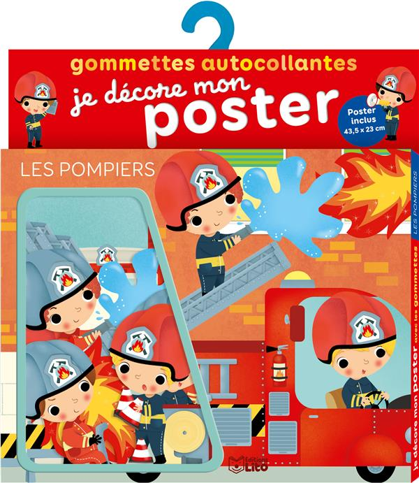 - GOMMETTES POSTER LES POMPIERS