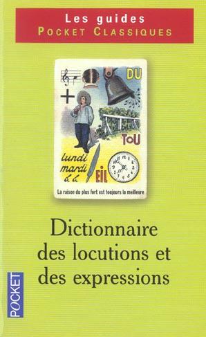 Dictionnaire des locutions et des expressions