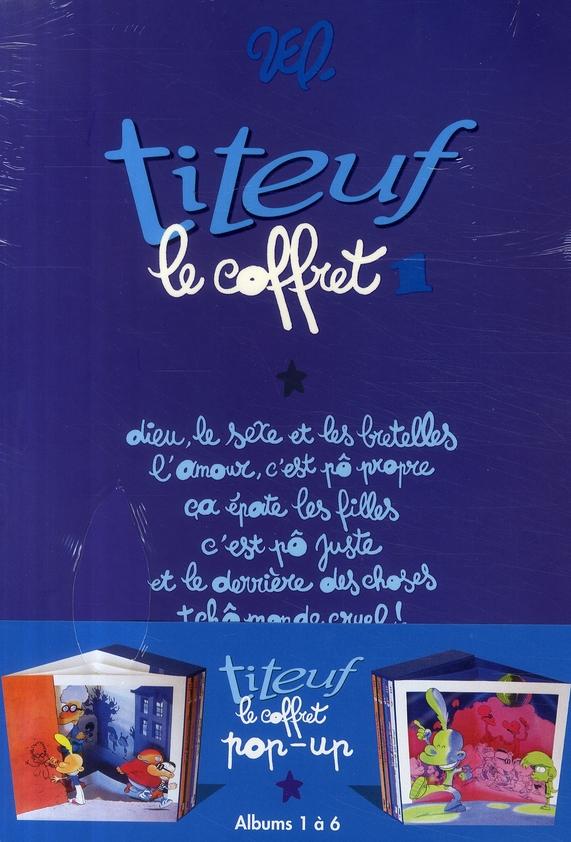 Titeuf - Coffret Tomes 01 A 06