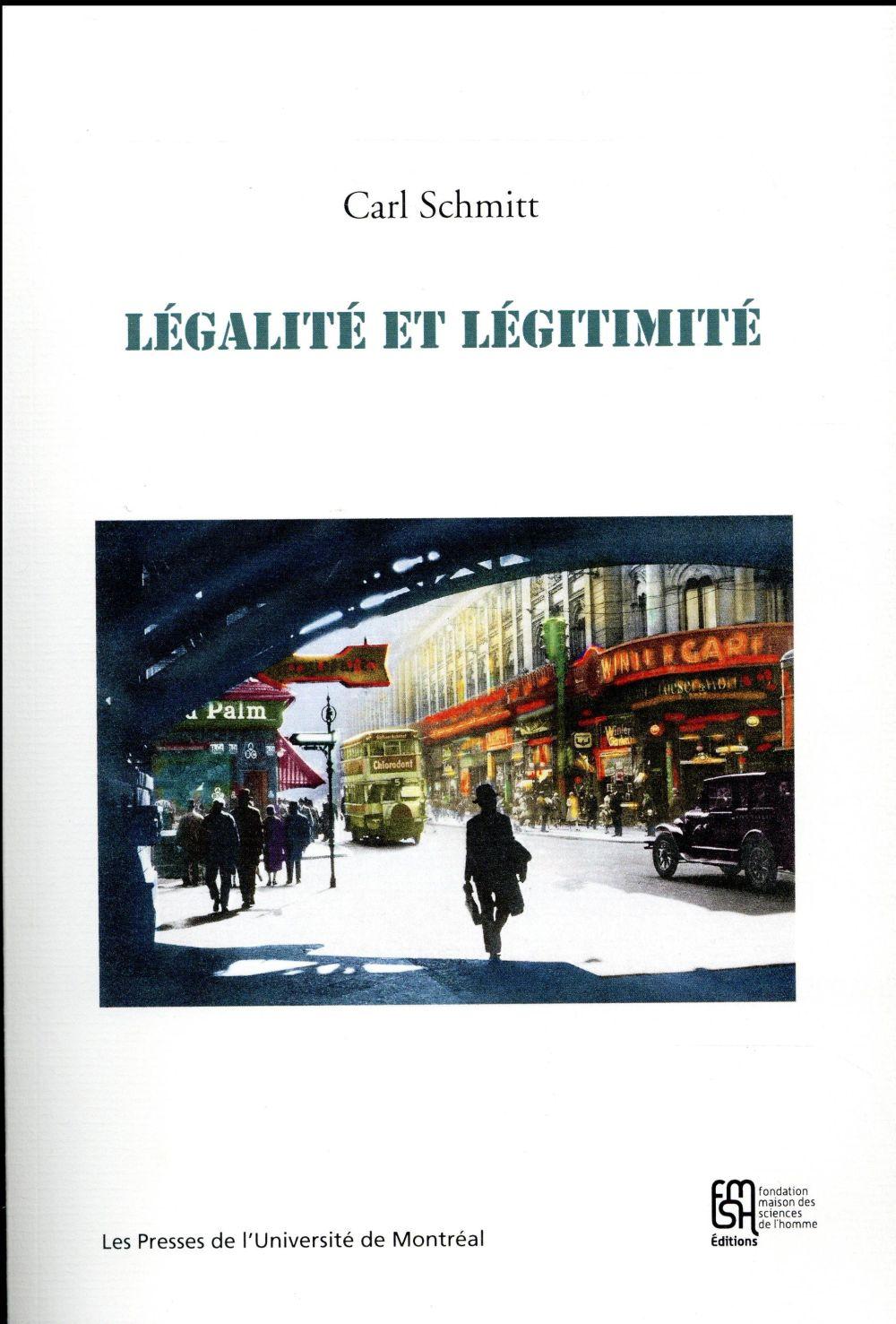 Legalite et legitimite