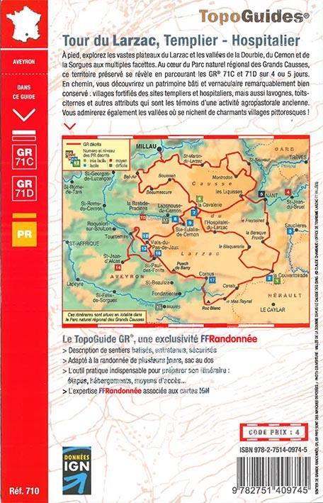 Tour du Larzac ; templier - hospitalier