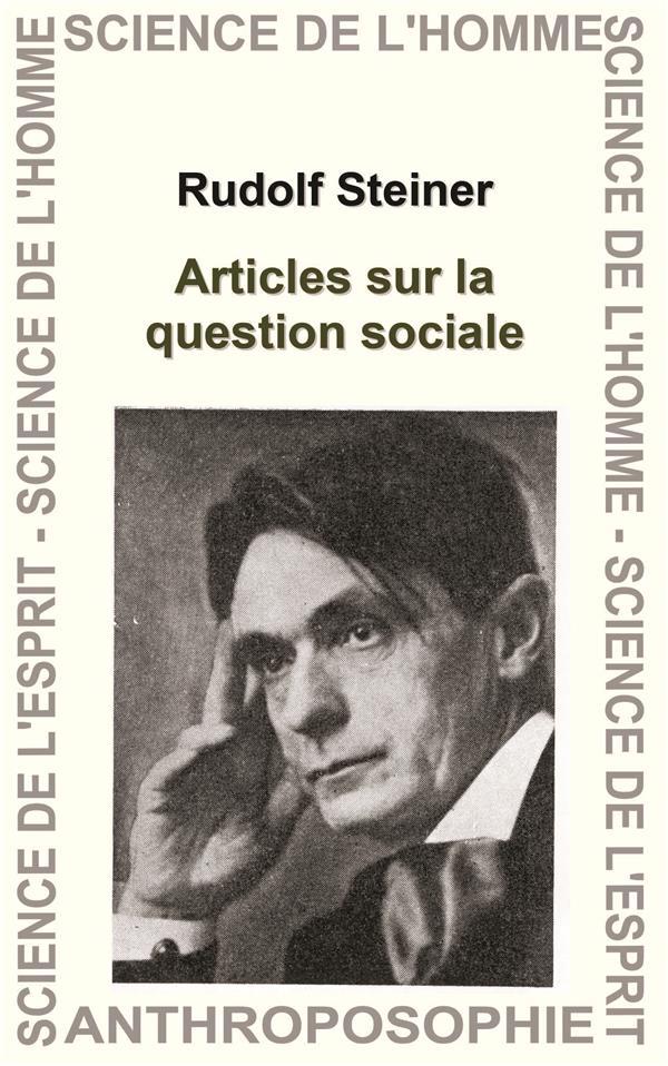 Articles sur la question sociale