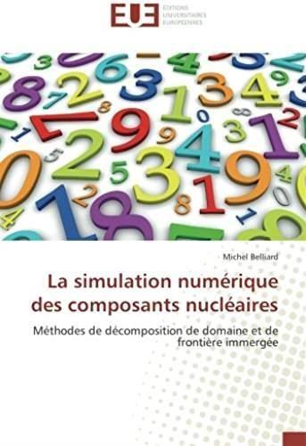 La simulation numérique des composants nucléaires ; méthodes de décomposition de domaine et de frontière immergée