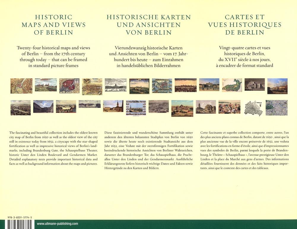 Berlin ; cartes et vues historiques