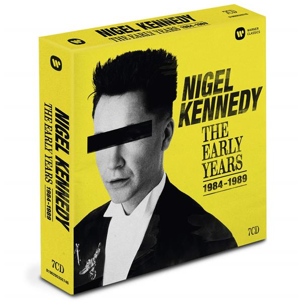 Nigel Kennedy, the early years 1984-1989