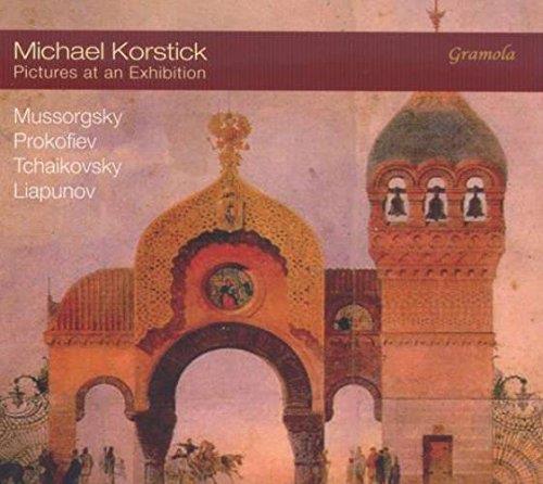 Michael Korstick : Tableaux d'une exposition, oeuvres pour piano.
