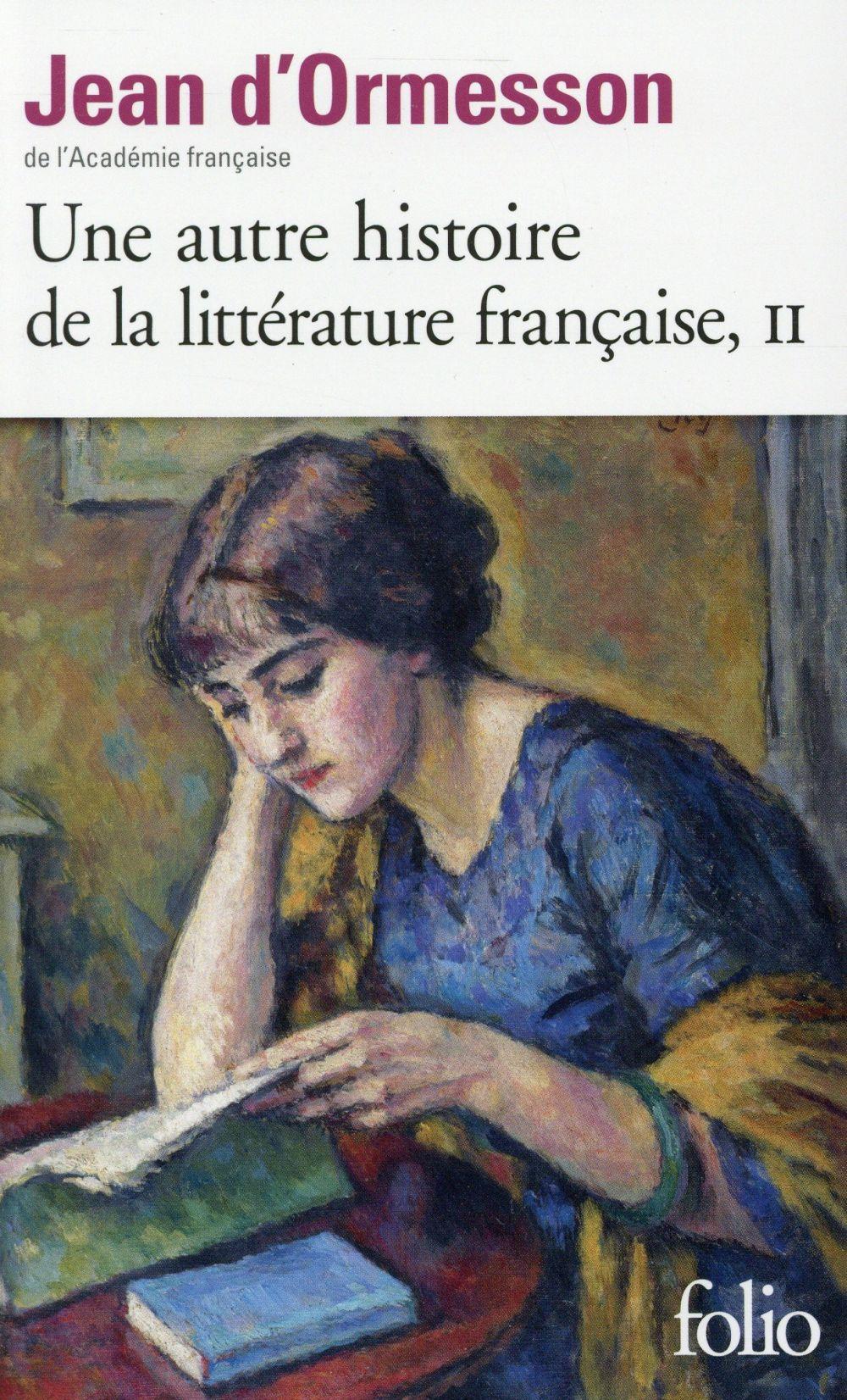 Une autre histoire de la littérature française t.2