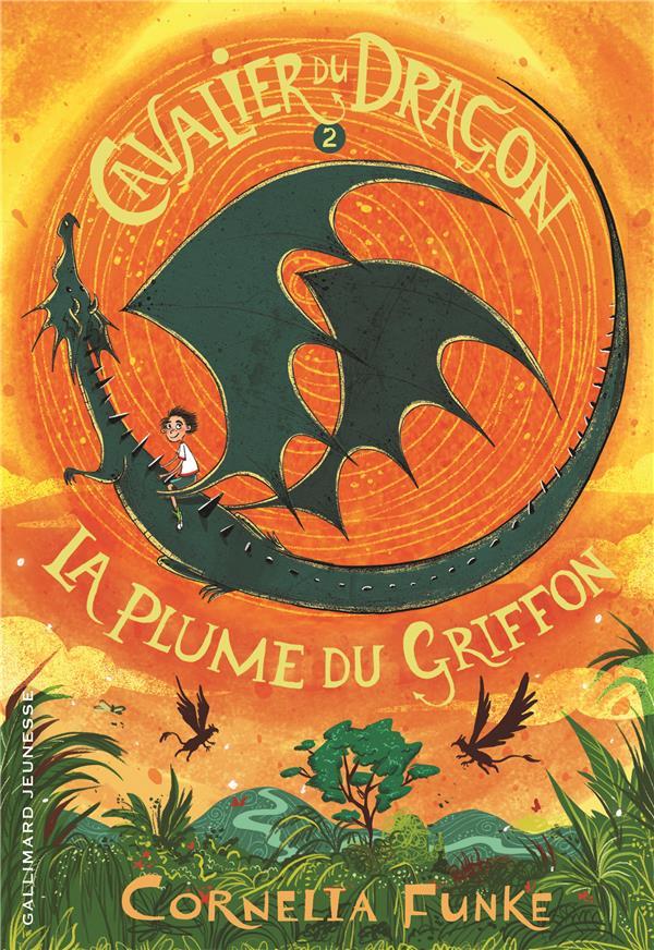 Le cavalier du dragon t.2 ; la plume du griffon