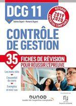 Vente EBooks : DCG 11 - Contrôle de gestion - Fiches de révision  - Sabine Sépari - Romaric Duparc