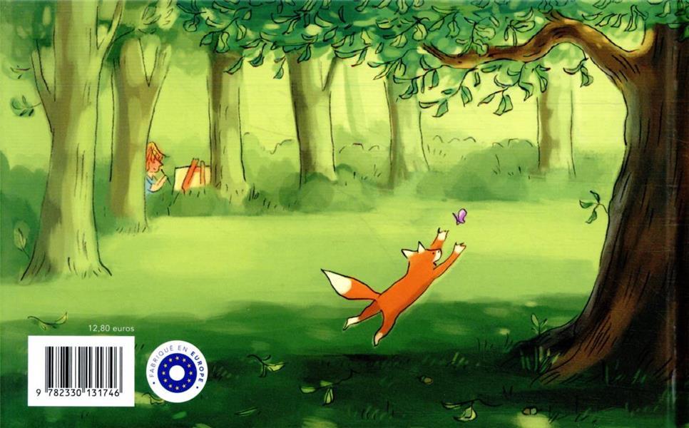 le bûcheron, l'arbre, l'écureuil et le renard