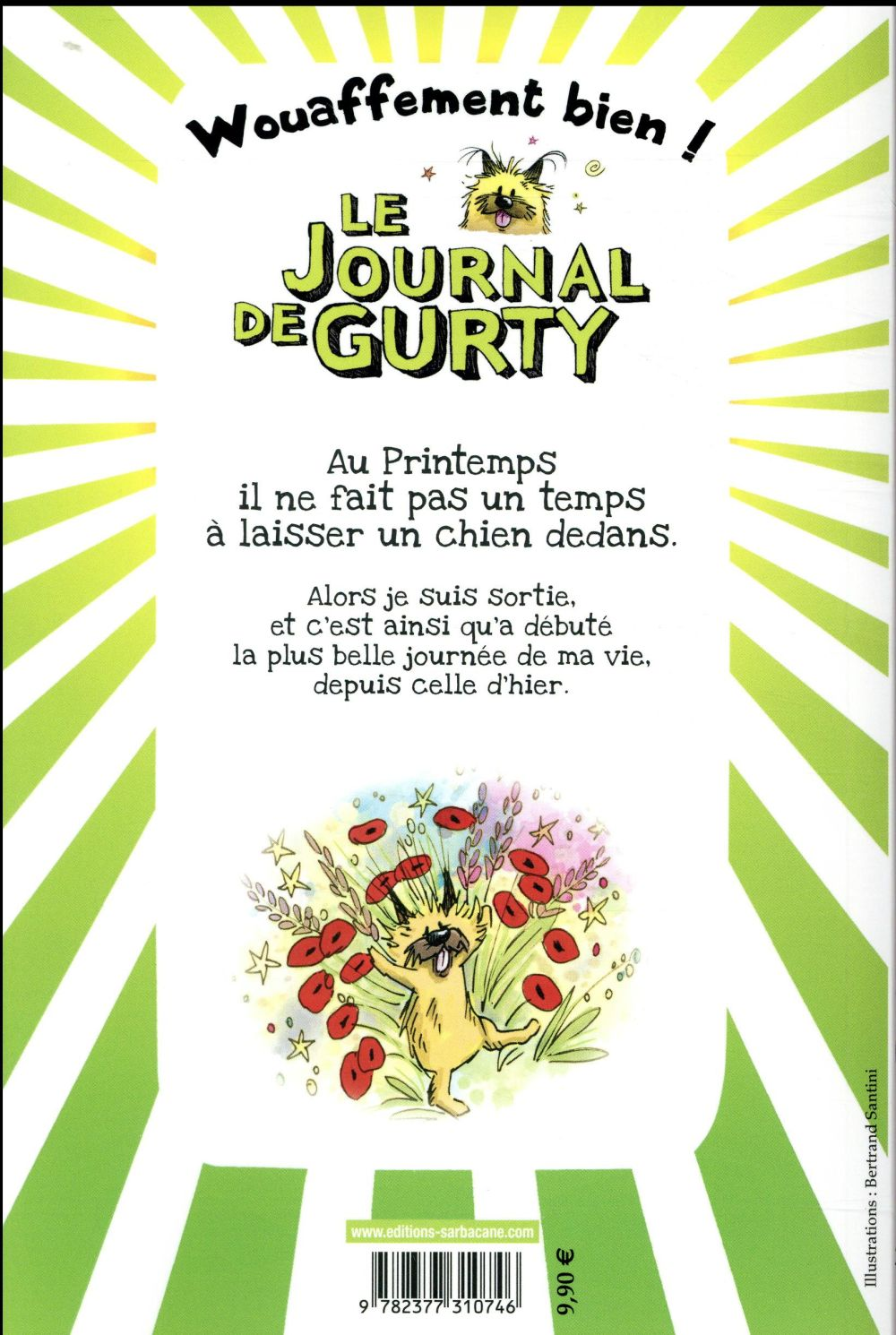 Le journal de Gurty t.4 ; printemps de chien