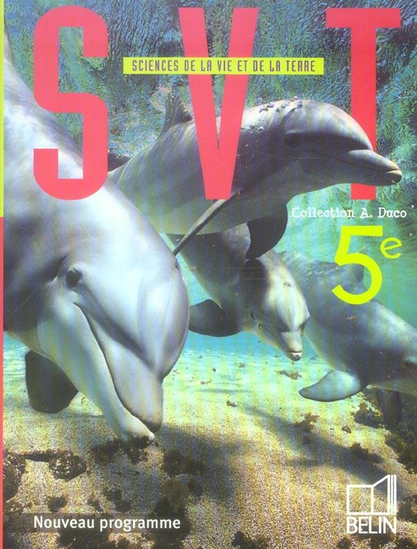 Svt 5e 2006 Eleve