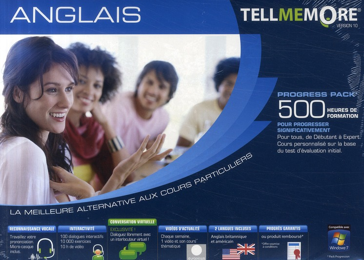 Tell Me More; Anglais ; 500 Heures De Formation