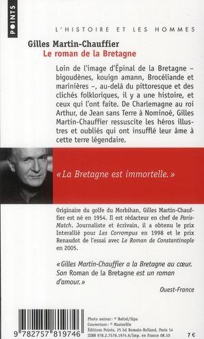 Le roman de la Bretagne ; l'histoire et les hommes