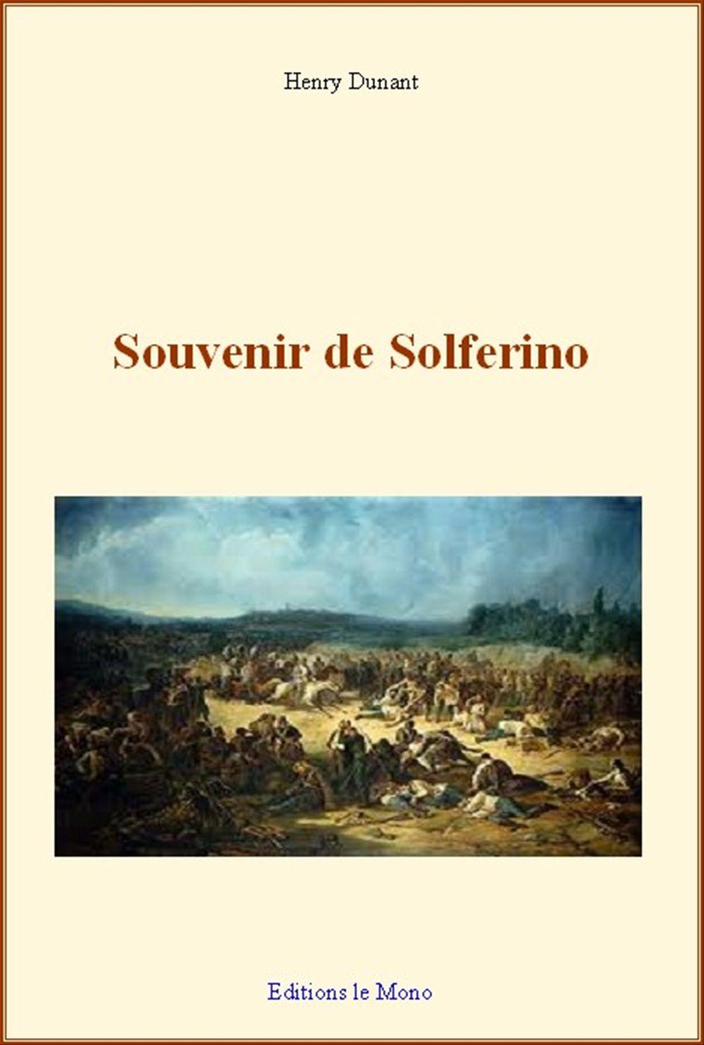 Souvenir de Solferino