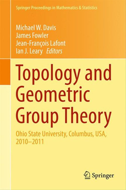 Topology and Geometric Group Theory