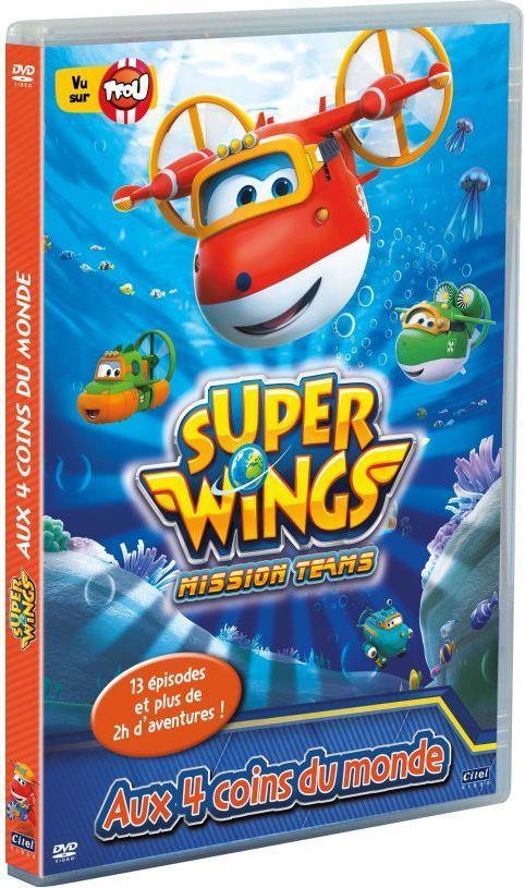 Super Wings - Saison 3, Vol. 1 : Aux 4 coins du monde