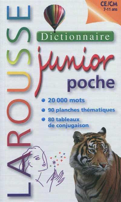 Dictionnaire Larousse junior poche ; 7/11 ans