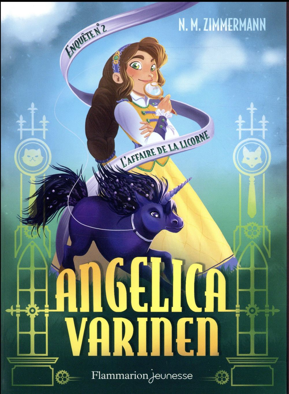 Angelica Varinen T.2 ; l'affaire de la licorne