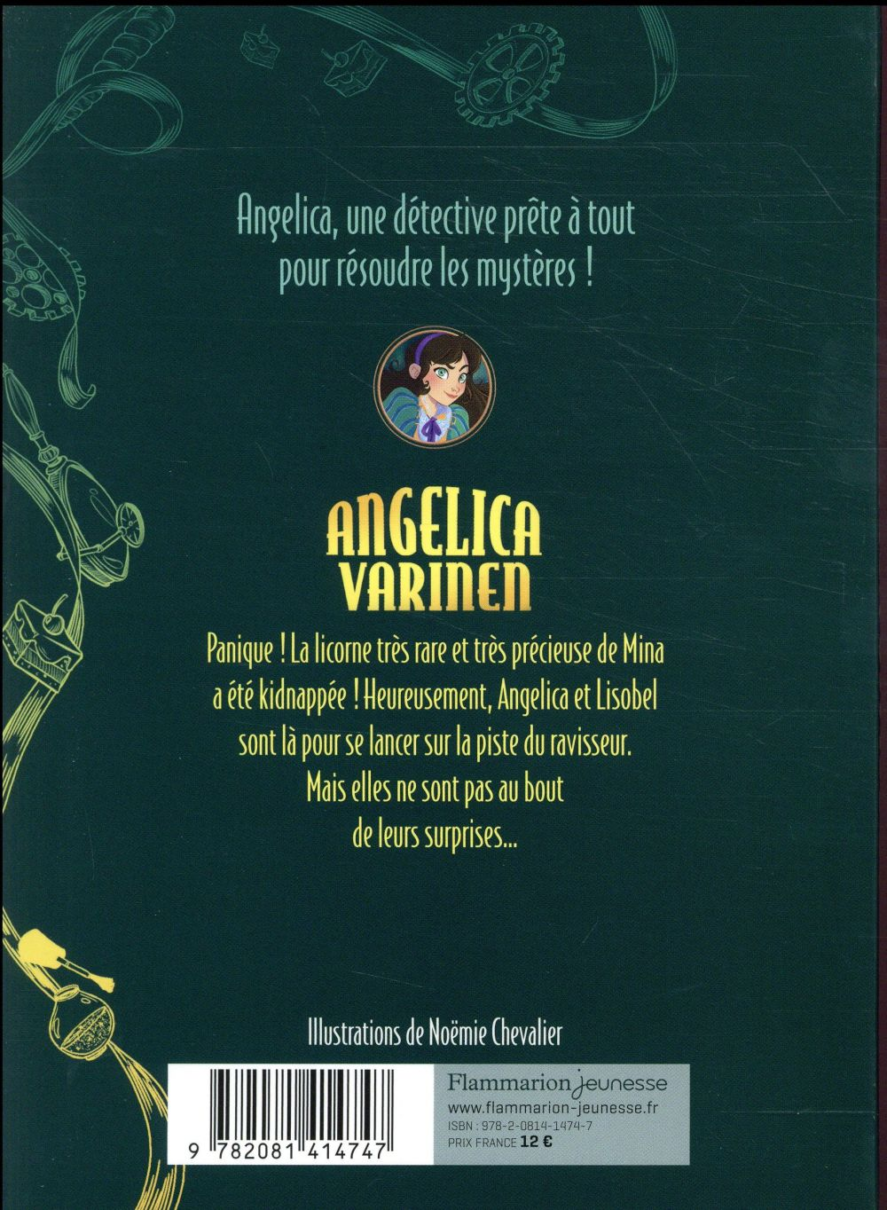 Angelica Varinen T.2 ; l'affaire de la licorne