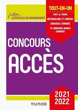 Concours Accès ; tout-en-un (édition 2021/2022)