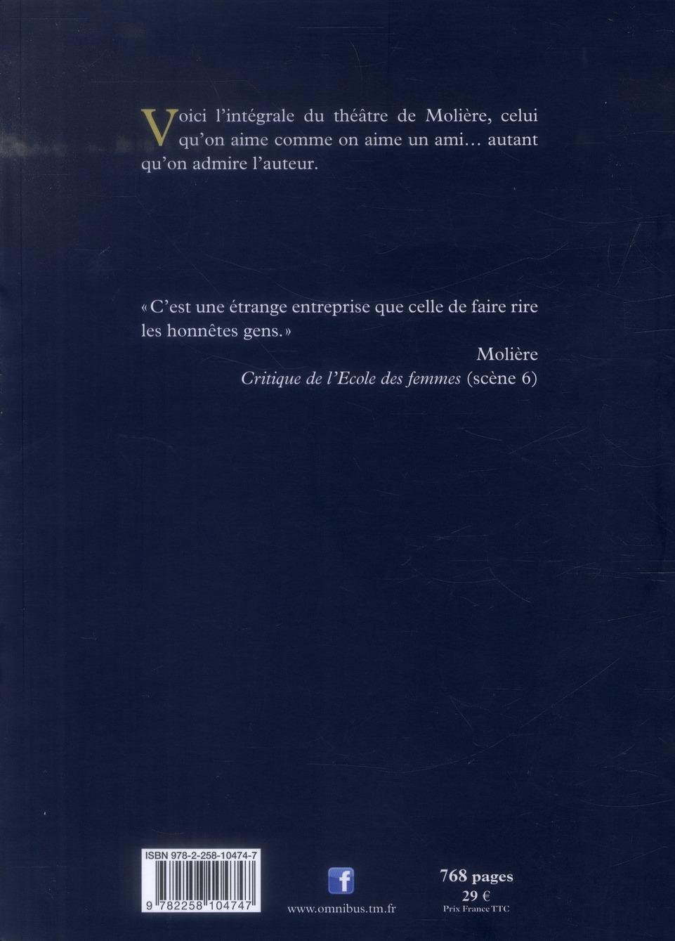 Théâtre de Molière ; intégrale illustrée