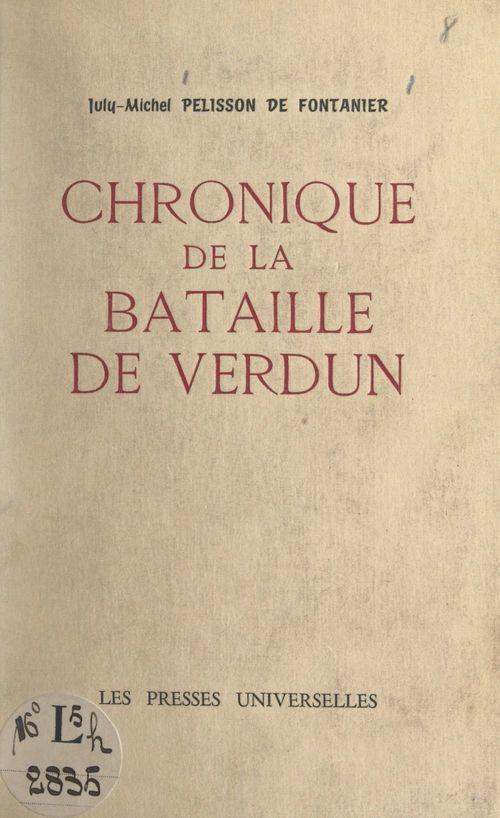 Chronique de la bataille de Verdun