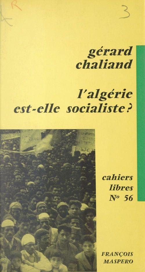 L'Algérie est-elle socialiste ?