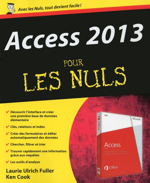 Access 2013 Pour les Nuls