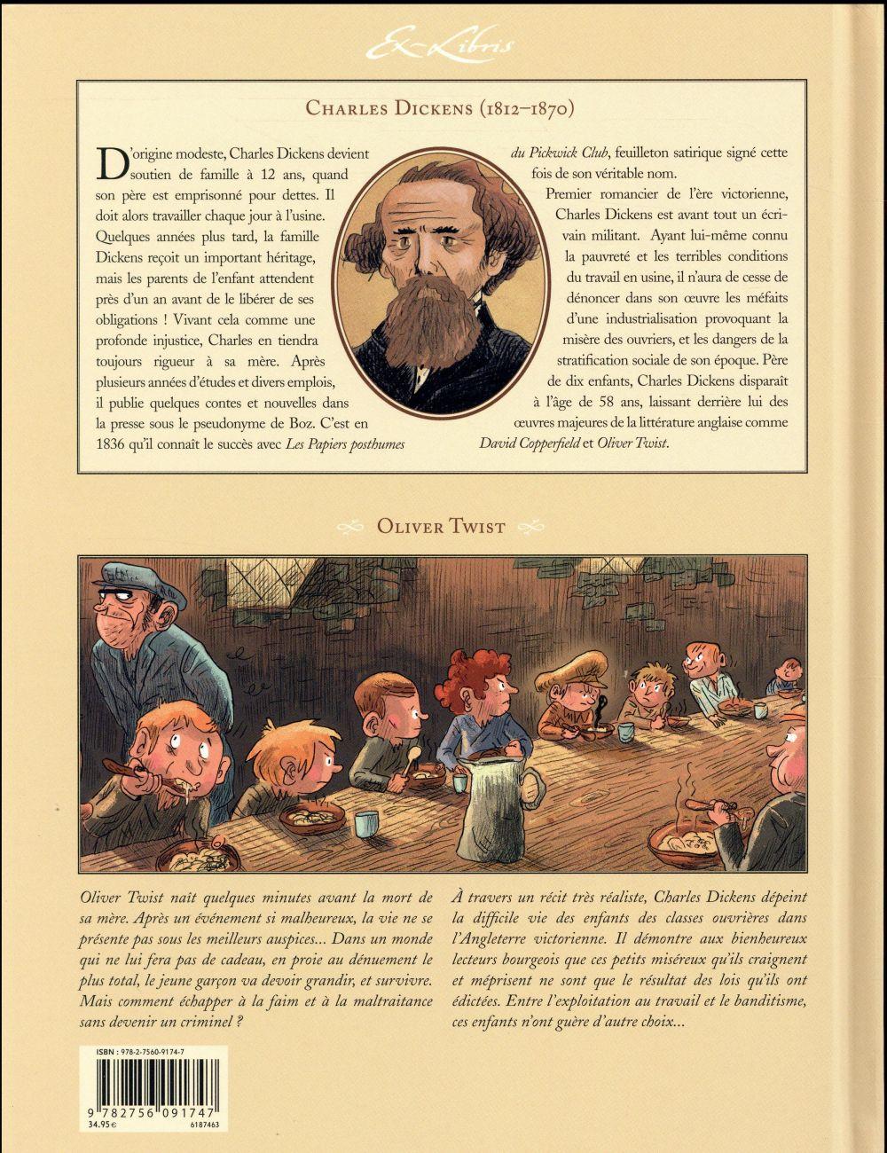 Oliver Twist, de Charles Dickens ; INTEGRALE T.1 A T.5