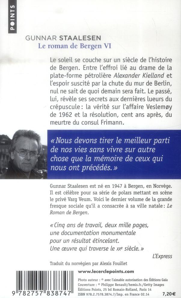 Le roman de Bergen t.6 ; 1999 le crépuscule t.2