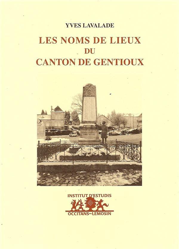Les noms de lieux du canton de Gentioux