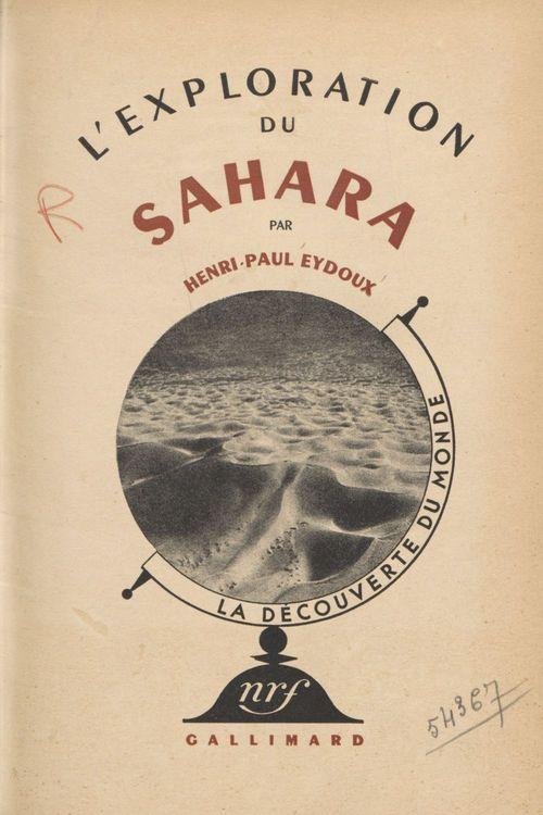 L'exploration du Sahara (4)