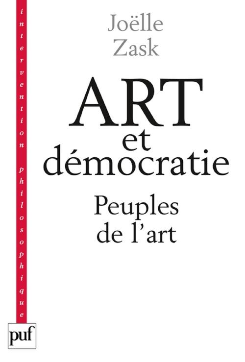 Art et démocratie ; peuples de l'art