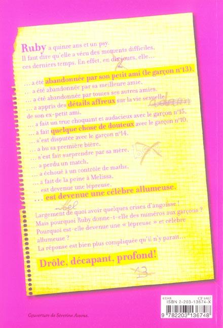 Journal d'une allumeuse