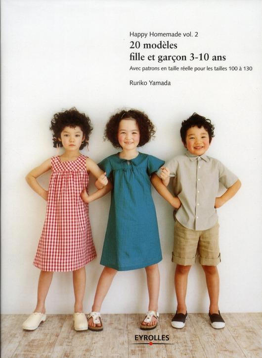 Happy Homemade T.2 ; 20 Modeles Fille Et Garcon 3/10 Ans