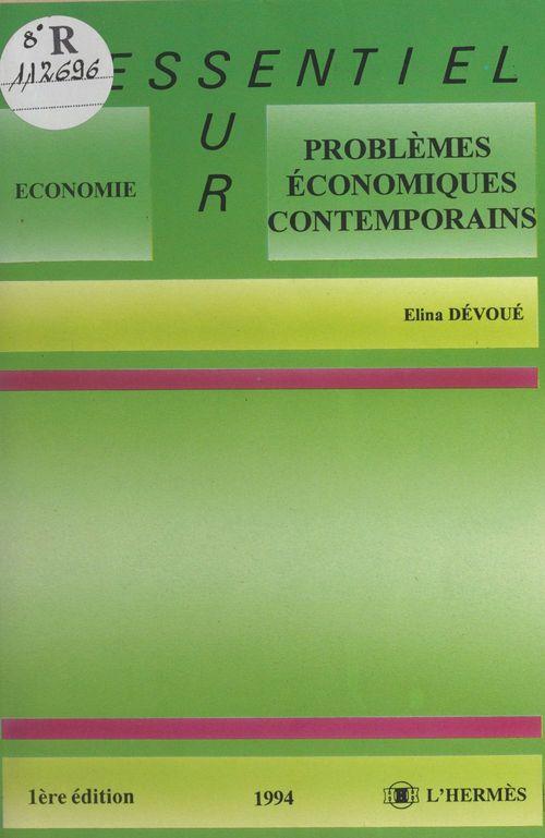 Problemes economiques contemporains