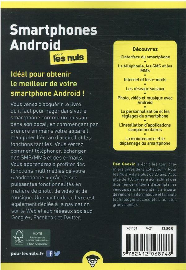 Smartphones Android pour les nuls (8e édition)