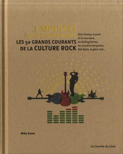3 minutes pour comprendre ; les 50 plus grands courants de la culture rock