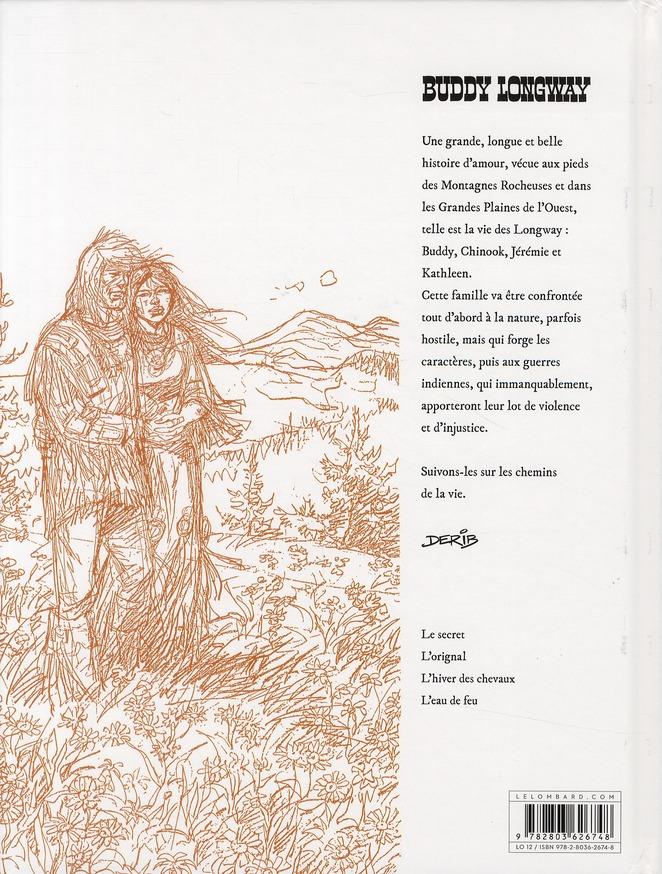 Buddy Longway ; intégrale t.2 ; Kathleen et Jérémie ; t.5 à t.8