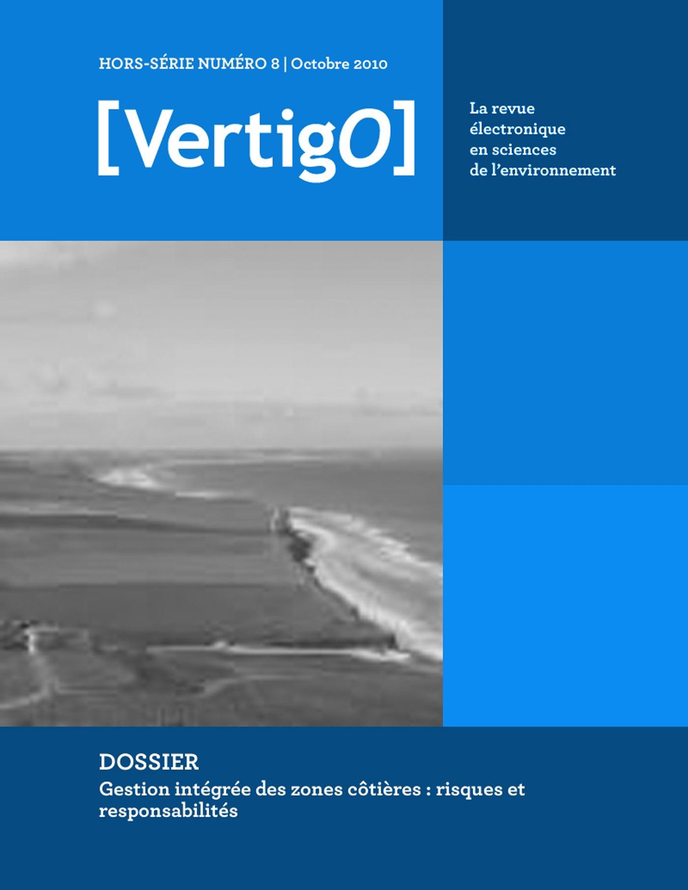 VERTIGO T.HS8 ; gestion intégrée des zones côtières : risques et responsabilités