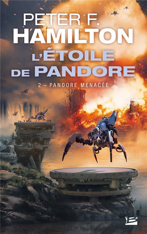 L'étoile de Pandore T.2 ; Pandore menacée