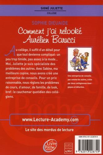 signé Juliette t.1 ; comment j'ai relooké Aurélien Barucci