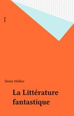 Vente EBooks : La Littérature fantastique  - Denis Mellier