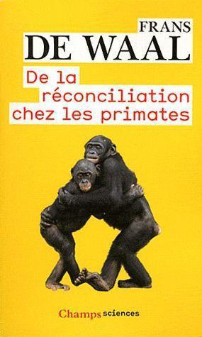 De la reconciliation chez les primates