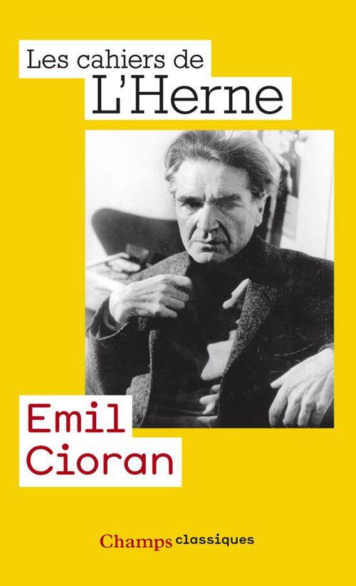 Emil Cioran  - Collectif  - Les Cahiers de l'Herne