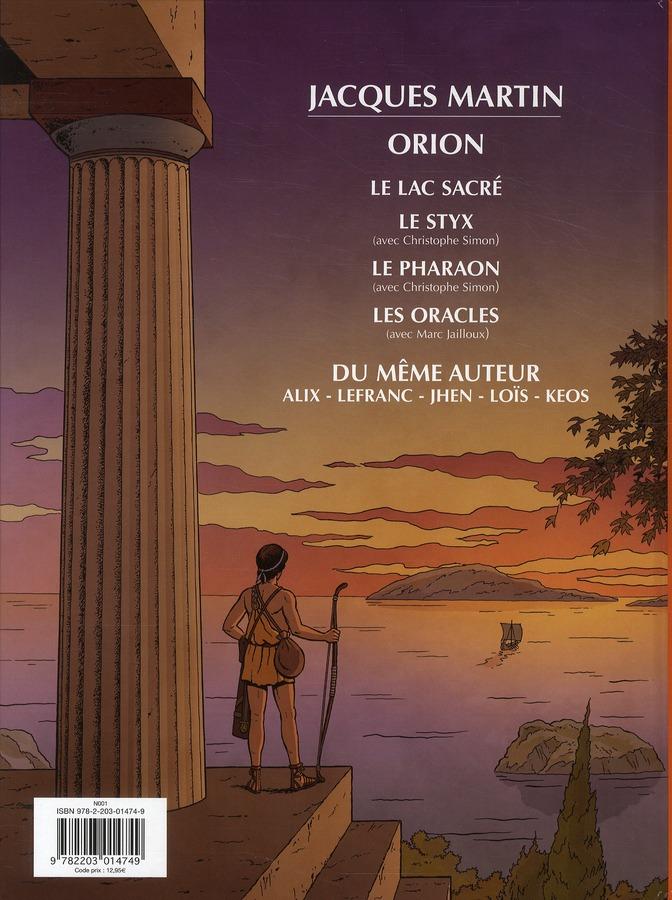 Orion T.4 ; les oracles