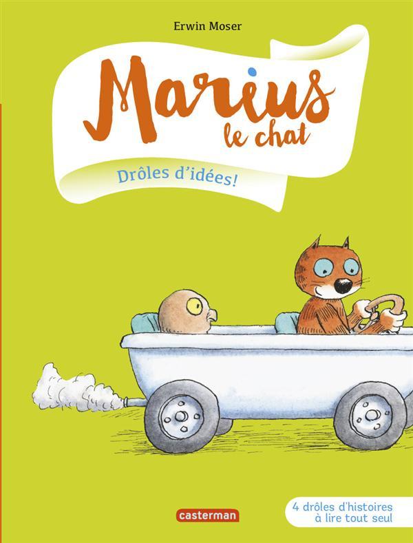 Marius le chat T.1 ; drôles d'idées !