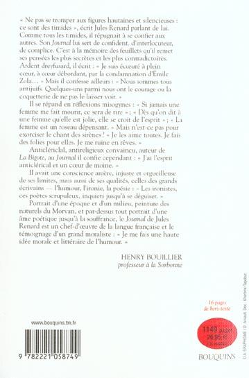 Jules renard - journal